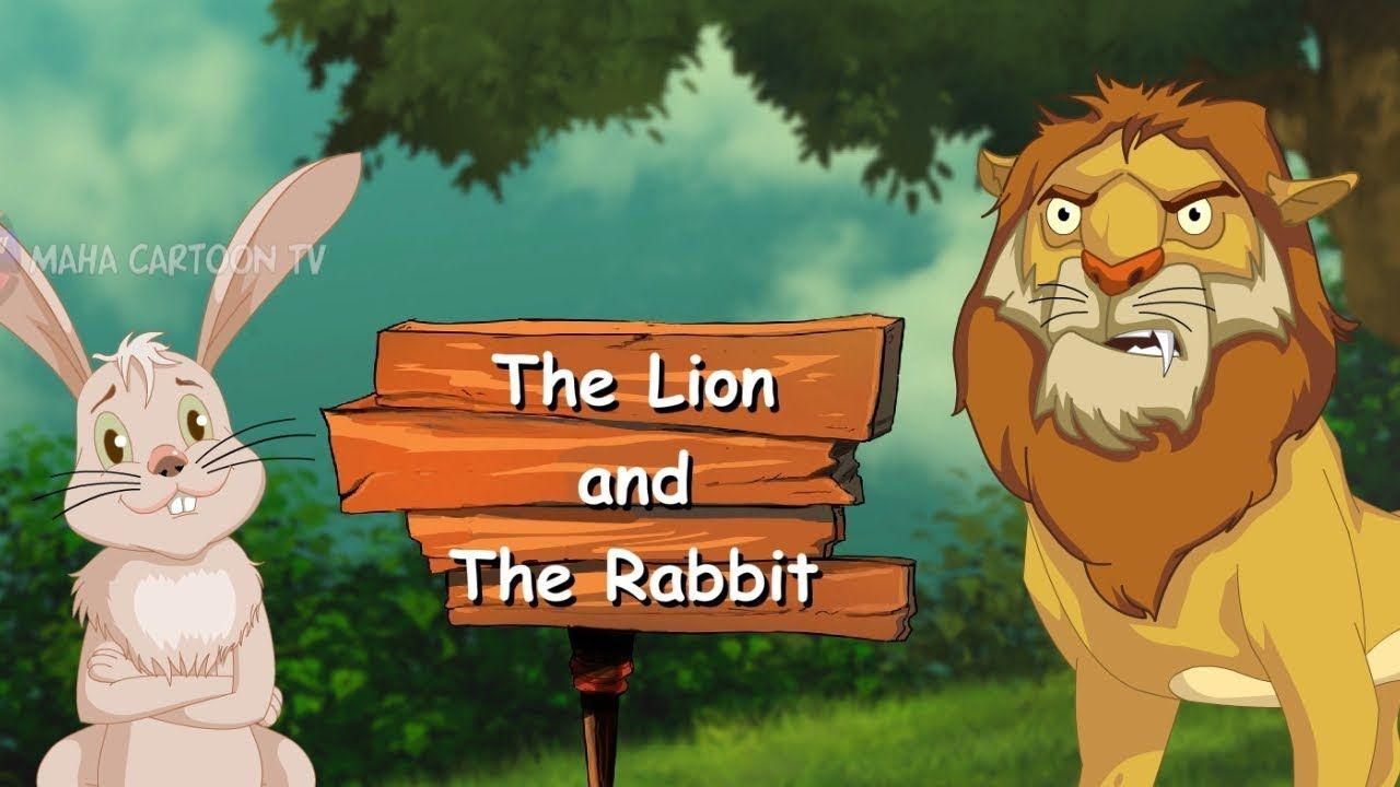 Lion and Rabbit | Panchatantra English Moral Stories For