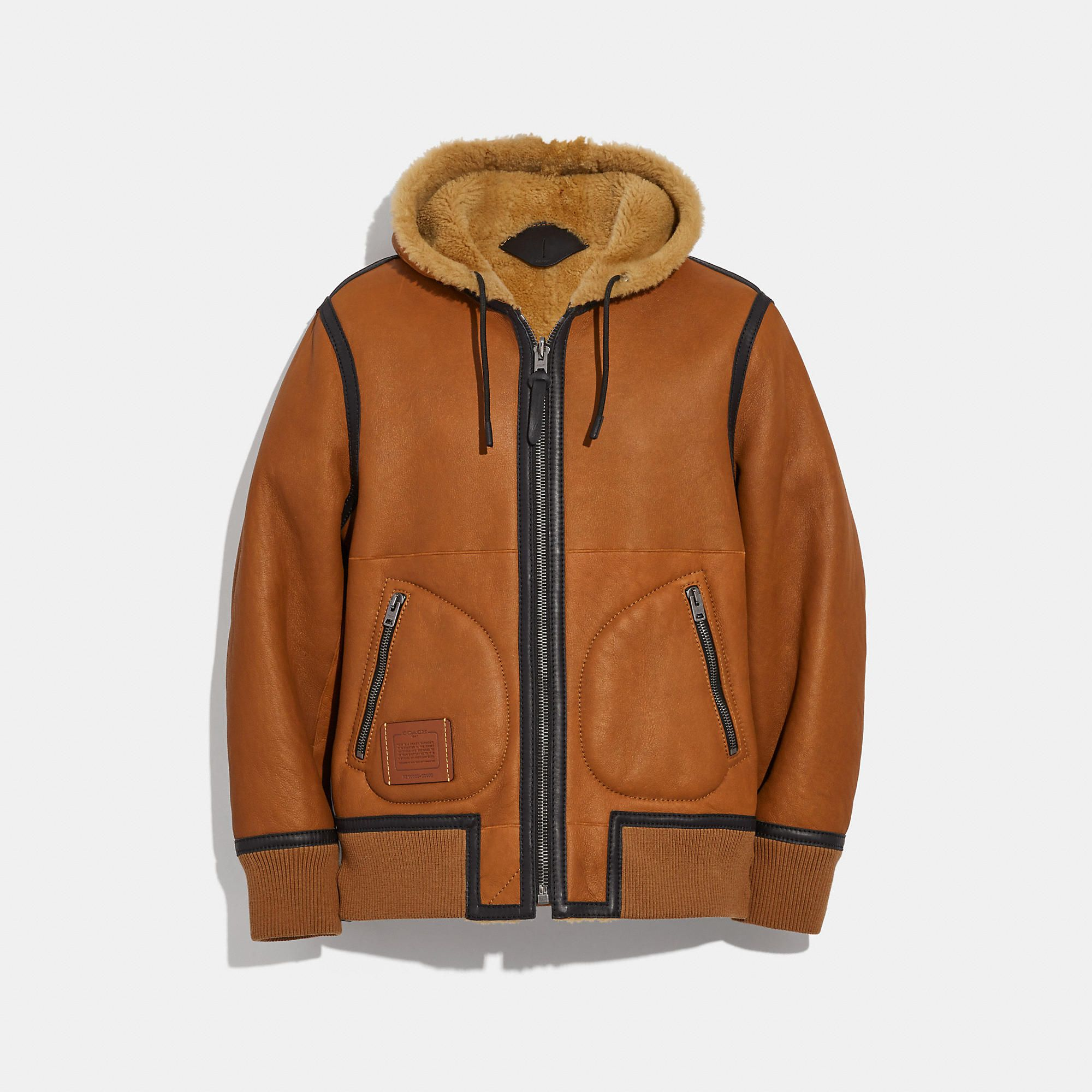Coach Official Site Designer Handbags Wallets Clothing Menswear Shoes More Shearling Jacket Bold Jackets Hoodies [ 2000 x 2000 Pixel ]