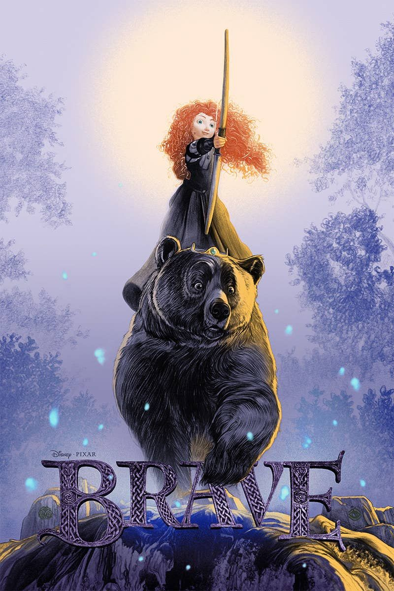 15 Beautifully Reimagined Pixar Movie Posters That Truly Capture The Spirit Of The Films