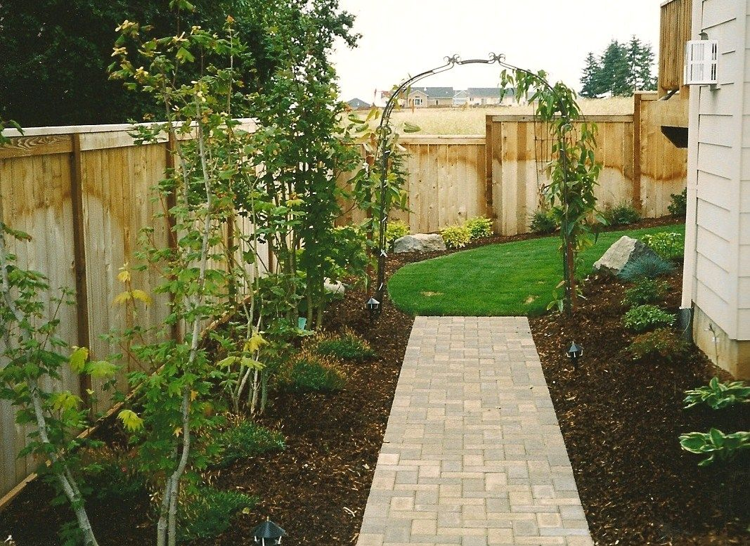 Landscaping A Side Yard Google Search Side Yard Landscaping Landscape Services Landscape Design
