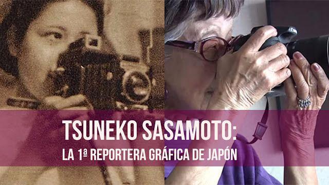 La 1ª reportera gráfica de Japón aún sigue haciendo fotos a la edad de 101 años…