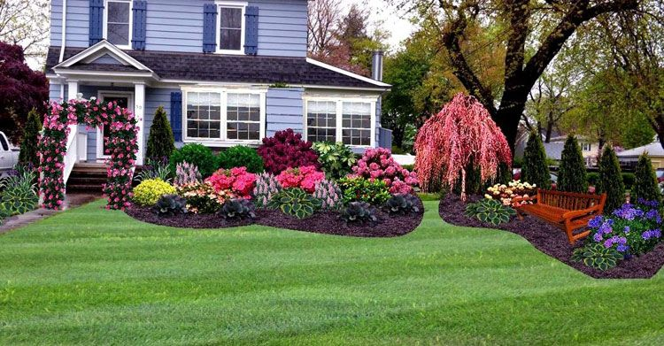 65 Best Front Yard Landscaping Ideas Garden Designs 2020 Guide