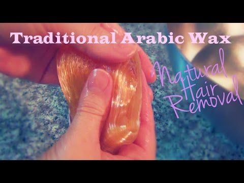 Arabic Wax For Natural Hair Removal This Is A Little
