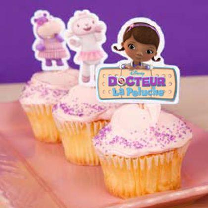 D corations pour cupcakes doc la peluche activit s avec - Deco pour cupcake ...