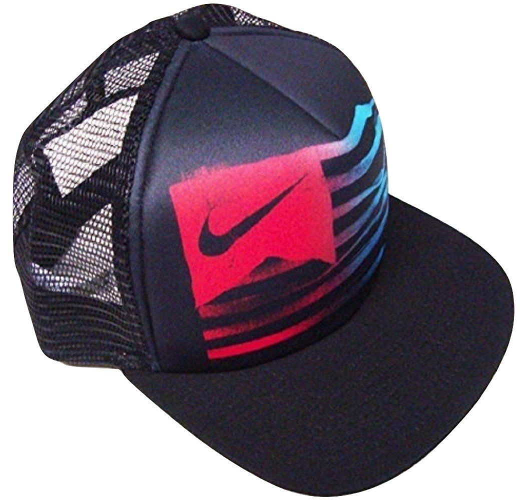 Amazon.com  Nike Usa! Usa! Black Mesh Flat Brim Snapback Hat Osfa  Clothing c104ba99d6a