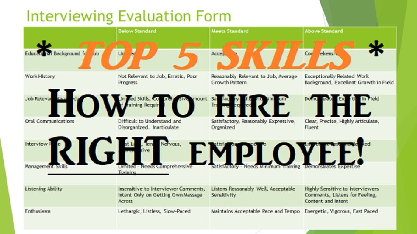 The Top Hr Interviewing Skills How To Conduct An Interview Effectively And Hire The Best Person Interview Skills This Or That Questions Interview