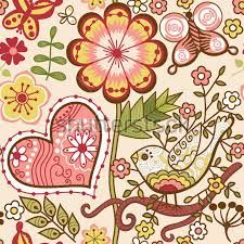 floral vetor vermelho - Pesquisa Google