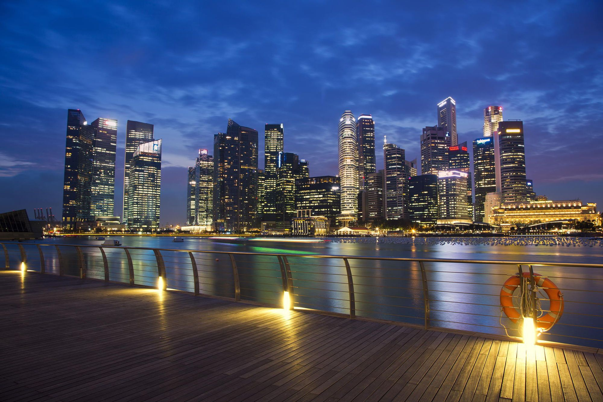 Marina Bay by Bryan Leung