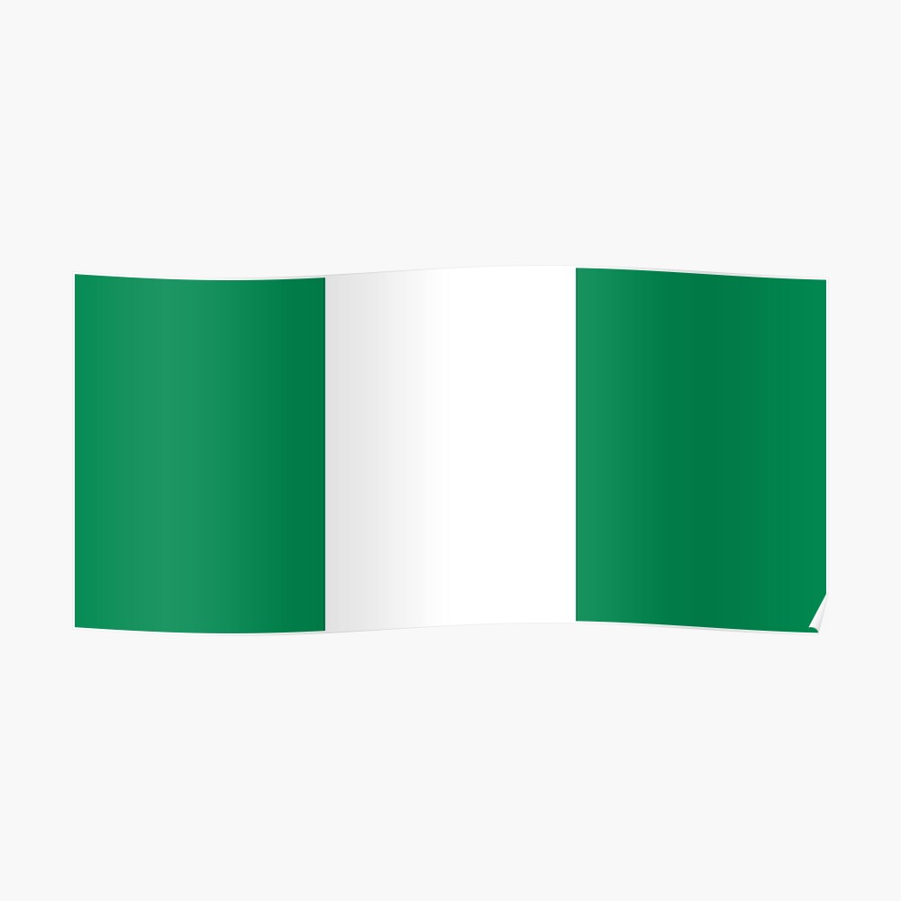 Nigeria Flag Nigerian Flag Print Pattern Gifts For Nigerians By Gracetee Redbubble In 2021 Flag Prints Nigeria Flag Patriotic Posters