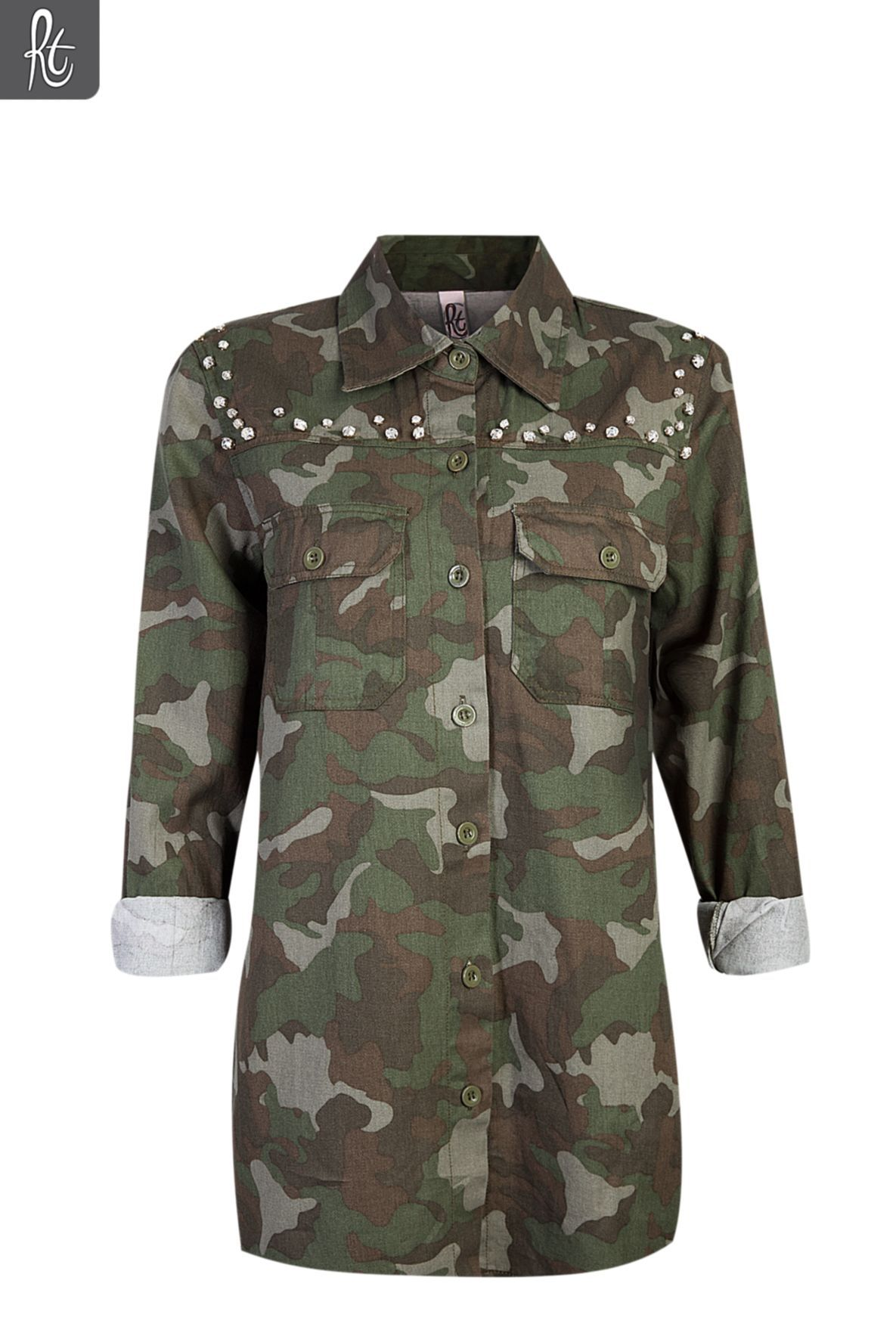 Ladies Embellished Camo Shirt from Mr Price. This would be
