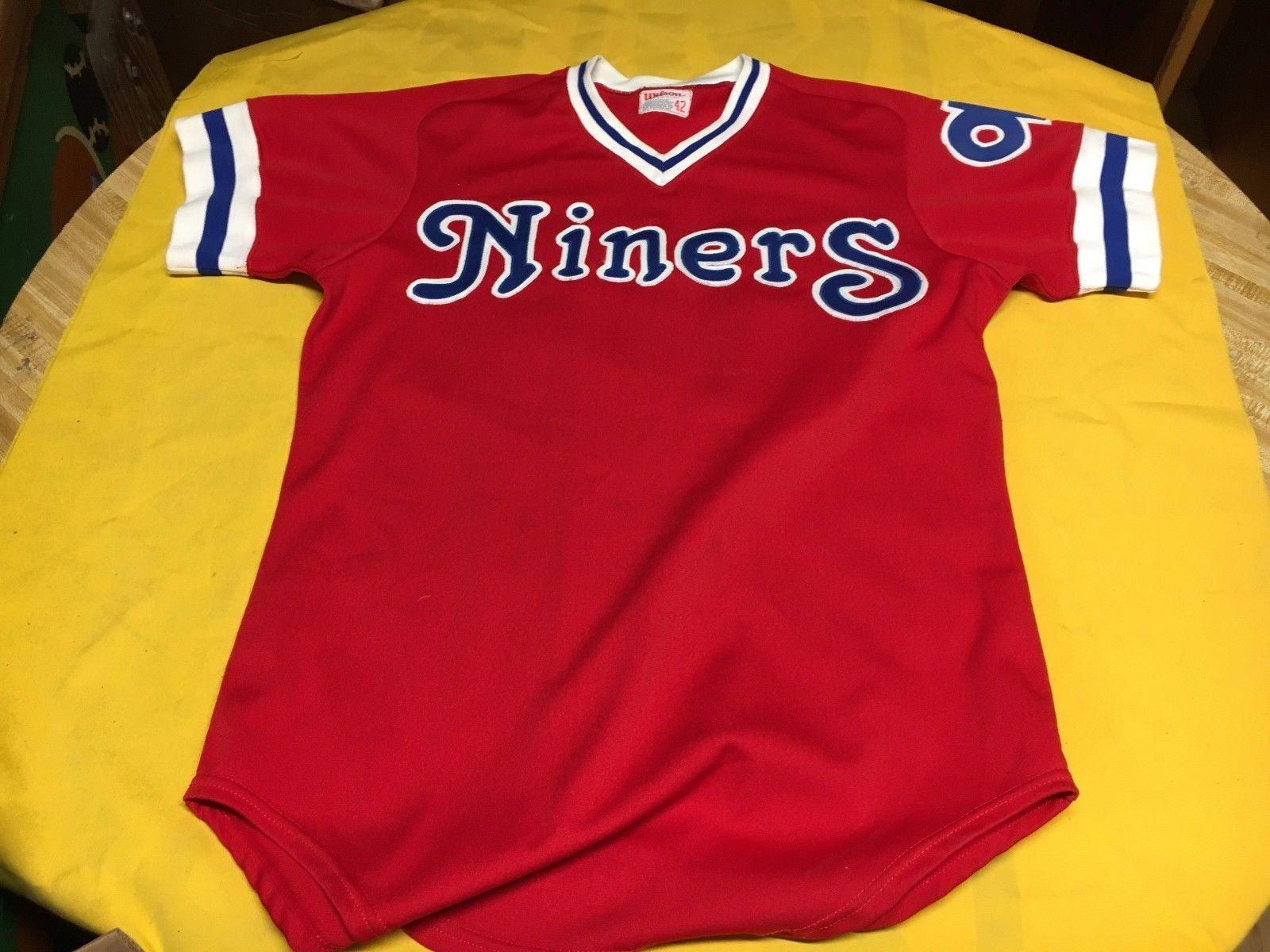 14d891115 early 1980 s OKLAHOMA CITY 89ers ORIGINAL GAME WORN MINOR LEAGUE BASEBALL  JERSEY