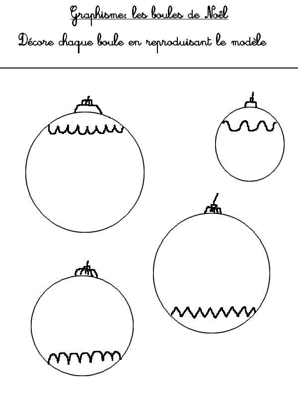 Hervorragend Graphisme - fiche à imprimer | Noël | Pinterest | Maternelle  LV42