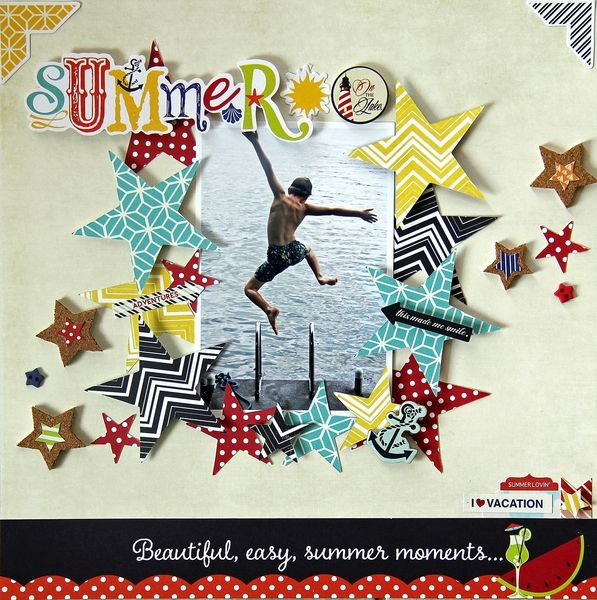Summer on the Lake by luvalotmum @2peasinabucket