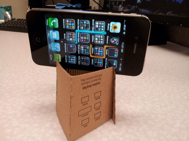 How to Make an iPhone Video Stand With a Coffee Sleeve