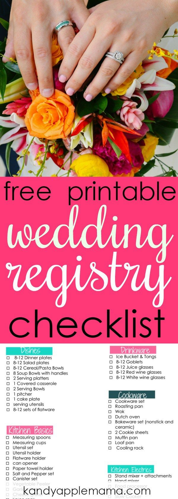 Wedding Registry The Best Place To Register  A Registry Checklist