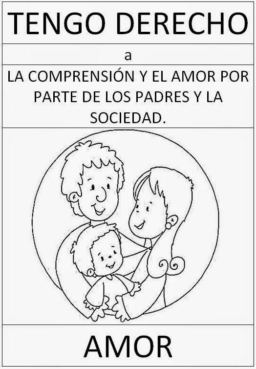Fichas Sobre Los Derechos Del Nino Derechos De Los Ninos Derechos De La Ninez Imagenes De Los Derechos
