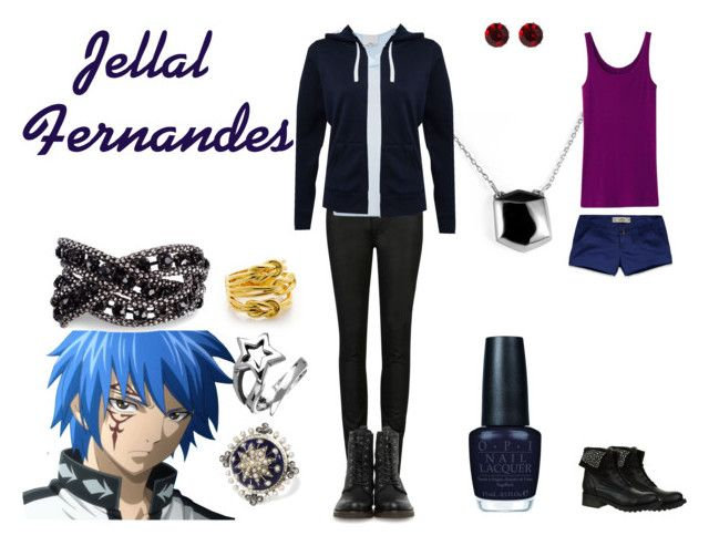 """""""Jellal Fernandes"""" by casualanime ❤ liked on Polyvore featuring Emilie Morris, Ted Baker, 3.1 Phillip Lim, Frye, Uniqlo, Hollister Co., Nana', Martine Wester, Femme Metale and Tory Burch"""