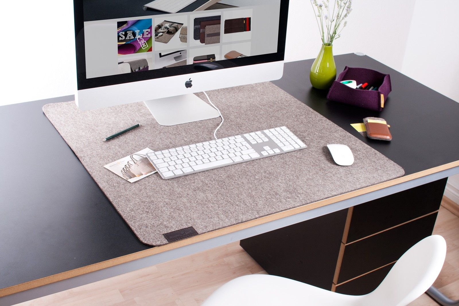 Sensational Our Large Desk Pad Made Of Genuine Wool Felt Desk Pad King Home Remodeling Inspirations Gresiscottssportslandcom