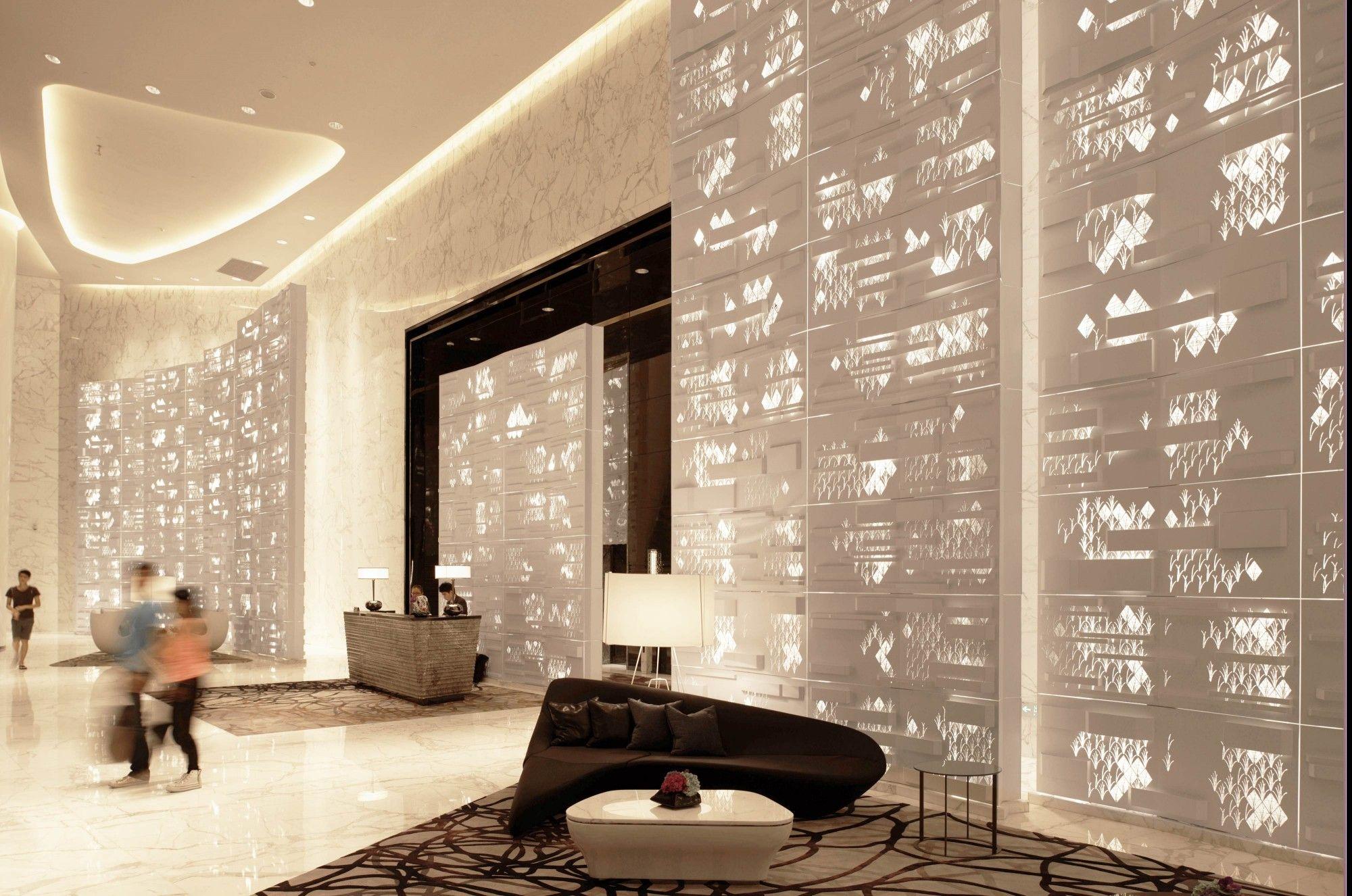 metal art façade guangzhou four seasons hotel, 2011. supply, metal