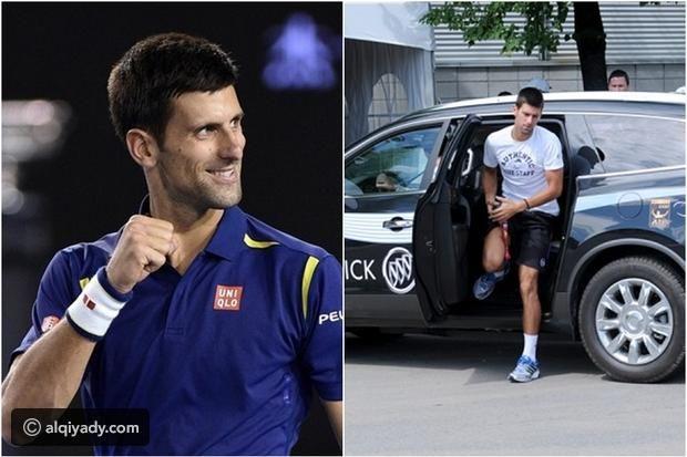 سيارات أفضل لاعب تنس في العالم نوفاك دجوكوفيتش موقع القيادي Mens Tops Polo Shirt Mens Polo