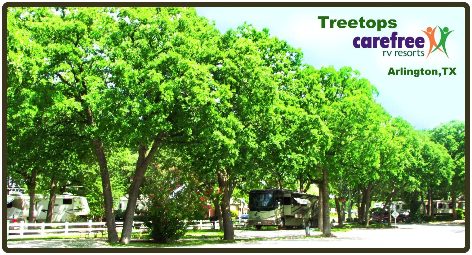 Treetops Carefree Rv Resort In Arlington Tx Click To Make