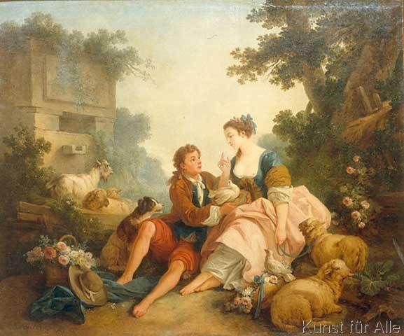 Jean-Baptiste Huet - J.B.Huet, Das Taubennest