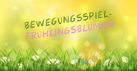 Bewegungsspiel – Die ersten Frühlingsblumen #bastelprojektefürdenfrühling