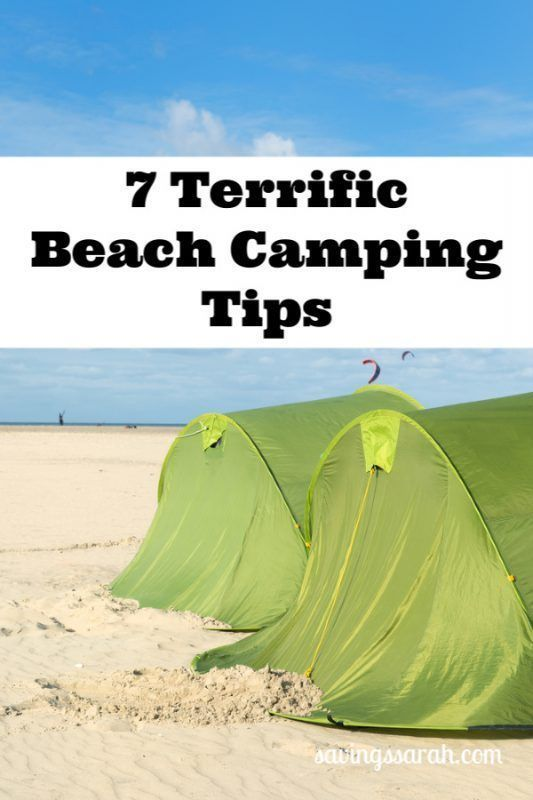 Photo of 7 Terrific Beach Camping Tips