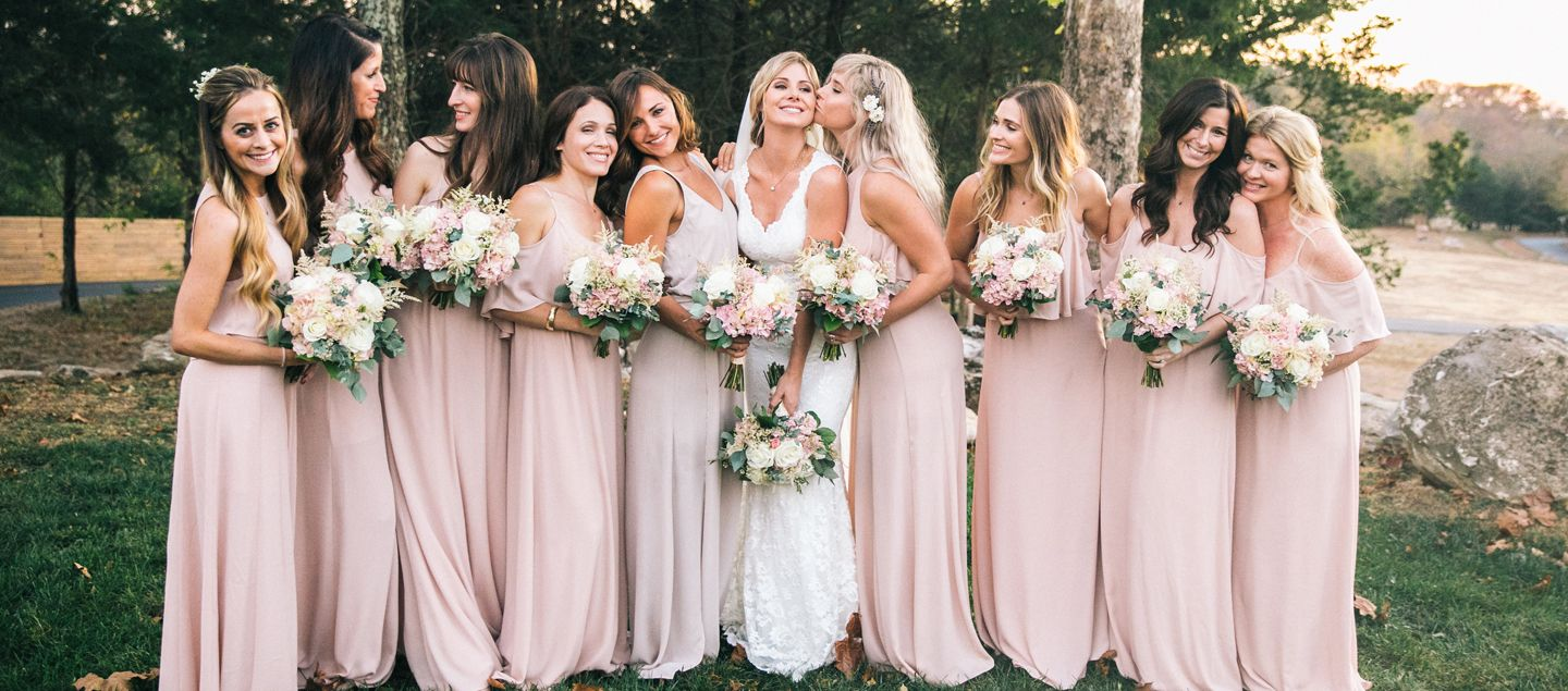 Shop new bridal mariages pinterest explore boho bridesmaids bridesmaid dresses and more ombrellifo Image collections