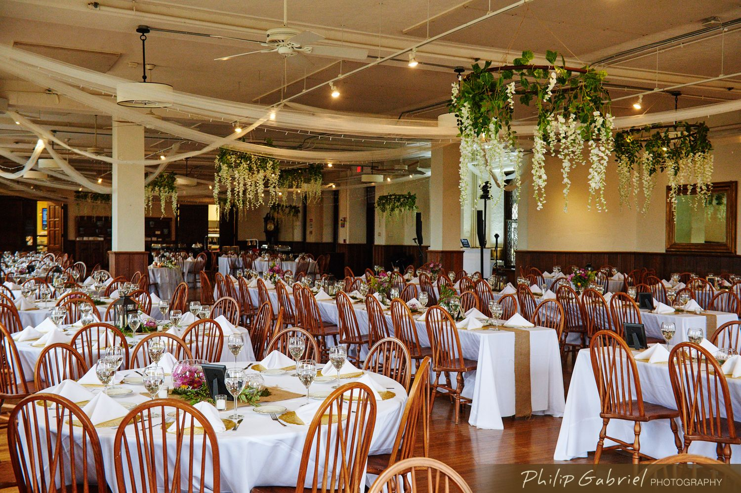 Up to 300 guests - 250-275 with a dance floor - 700 for a ...