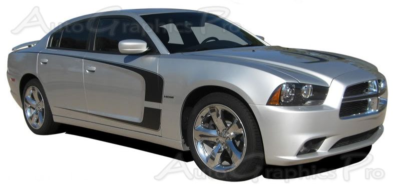 2011 2014 dodge charger c stripe mopar style vinyl racing stripes kit