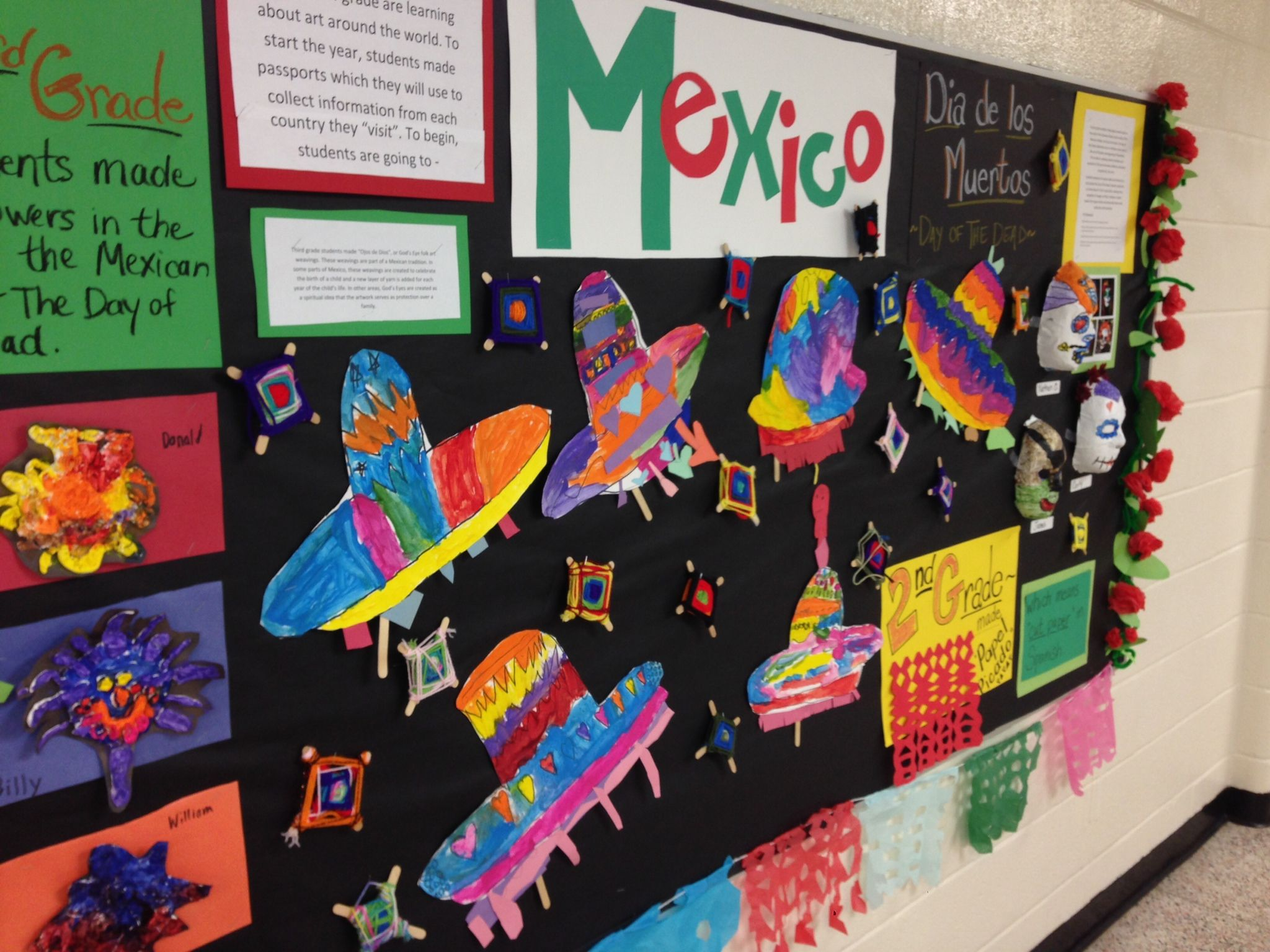 Bulletin Boards About Mexico