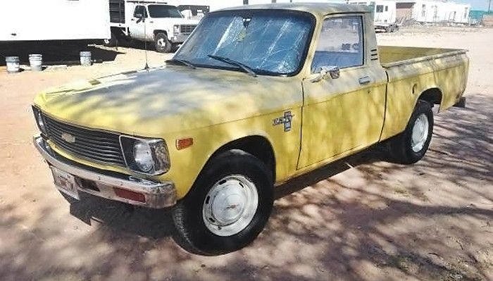 Give Me Some Luv 1979 Chevrolet Luv Chevy Luv Chevrolet Mini Trucks