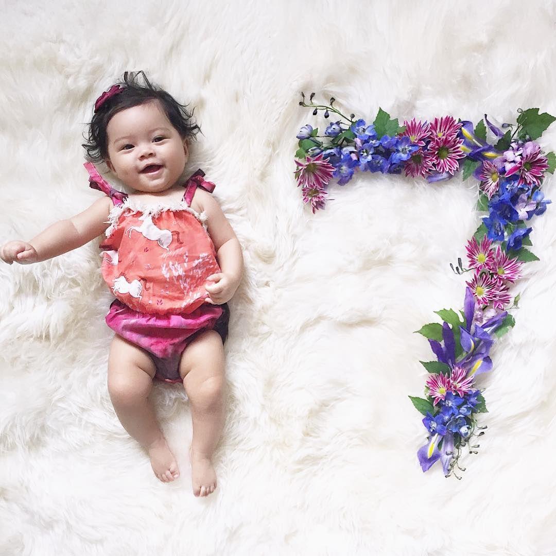 Pinterest Chelseakhaila 7 Month Baby 7 Month Baby Milestones Monthly Baby Photos