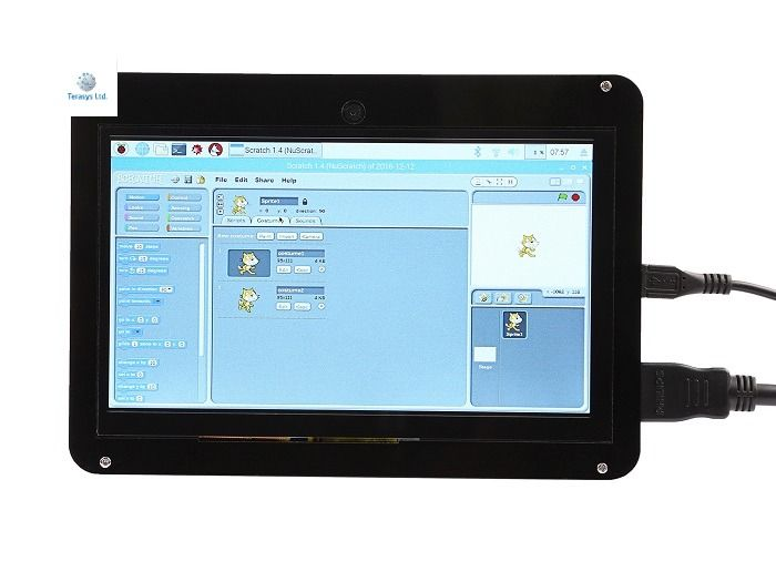 This is a fantastic 7 inch HDMI monitor with capacitive