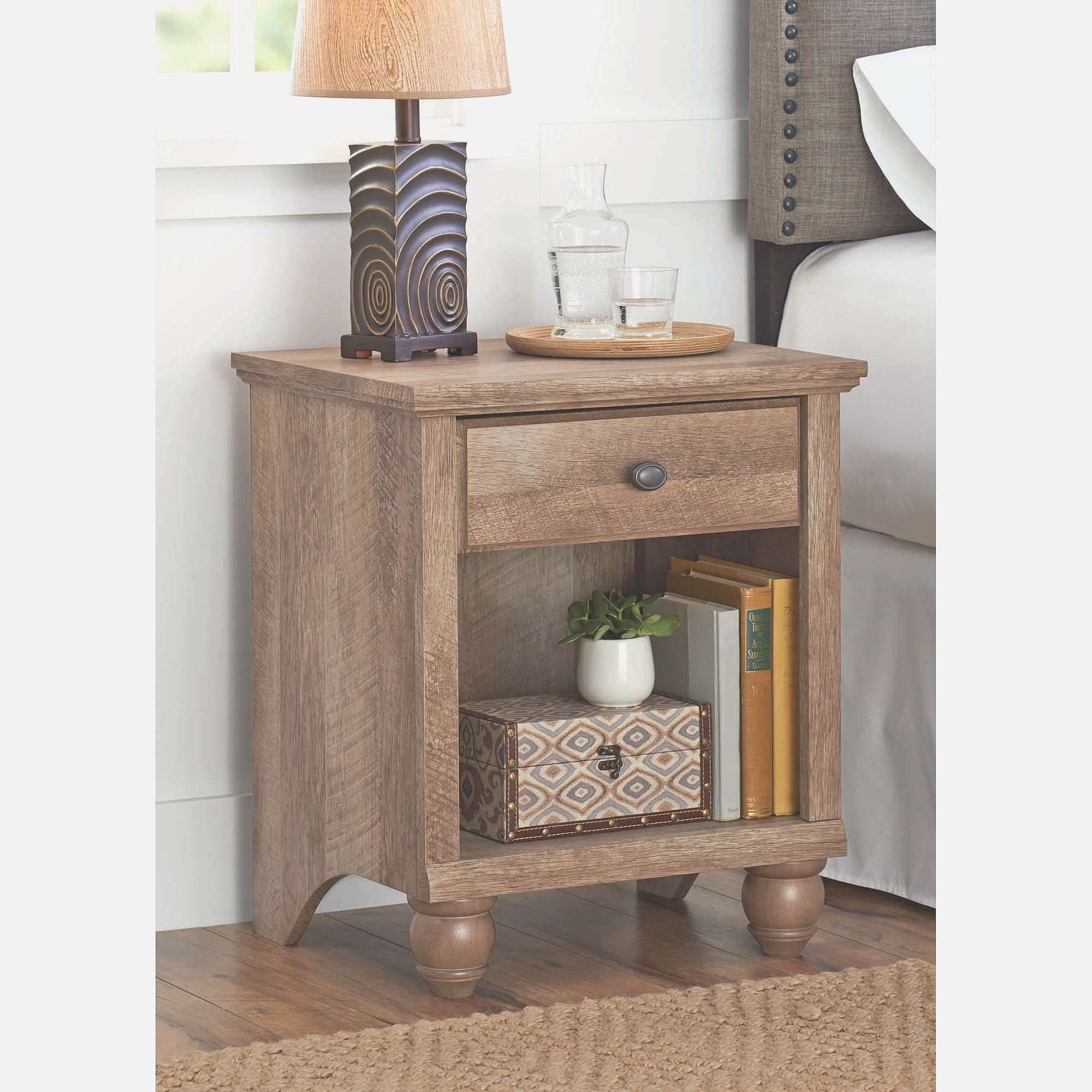 Storage End Tables For Living Room Cherry Wood