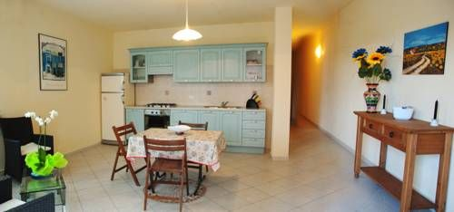 Appartamenti Via La Marmora Teulada Appartamenti Via La Marmora is situated in Teulada, 40 km from Cagliari. Pula is 20 km from the property. Free private parking is available on site.  Some units also have a kitchen, fitted with an oven.