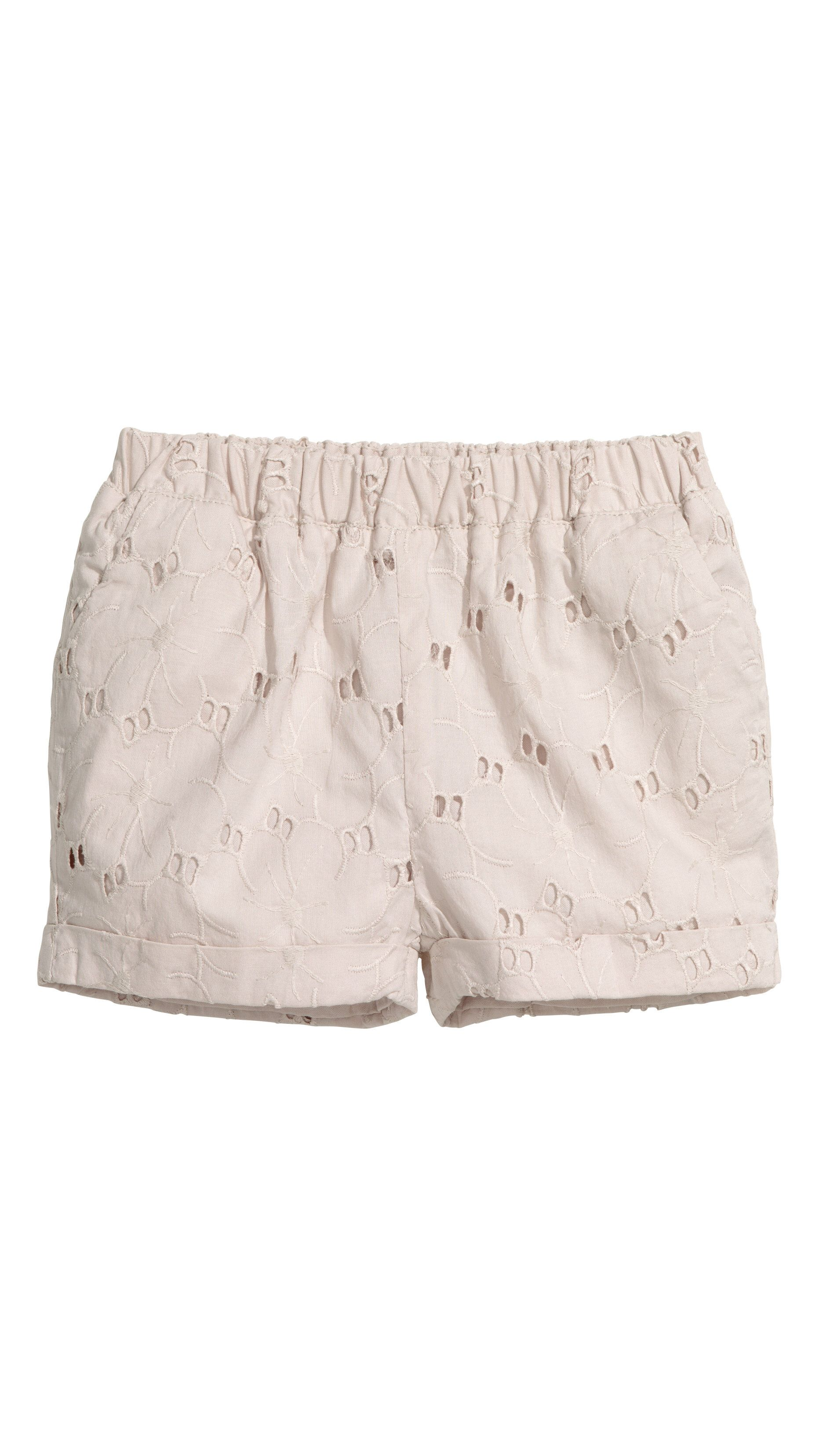 Love this from H&M · Eyelet ShortsEmbroidered ...