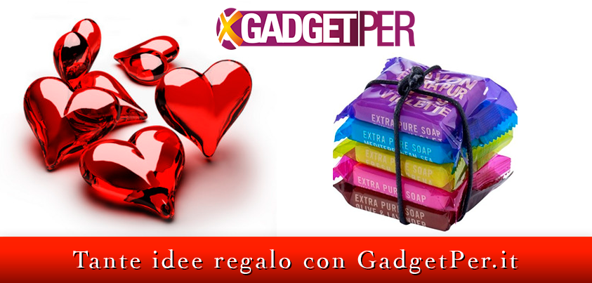 #regali per #sanvalentino su www.gadgetper.it