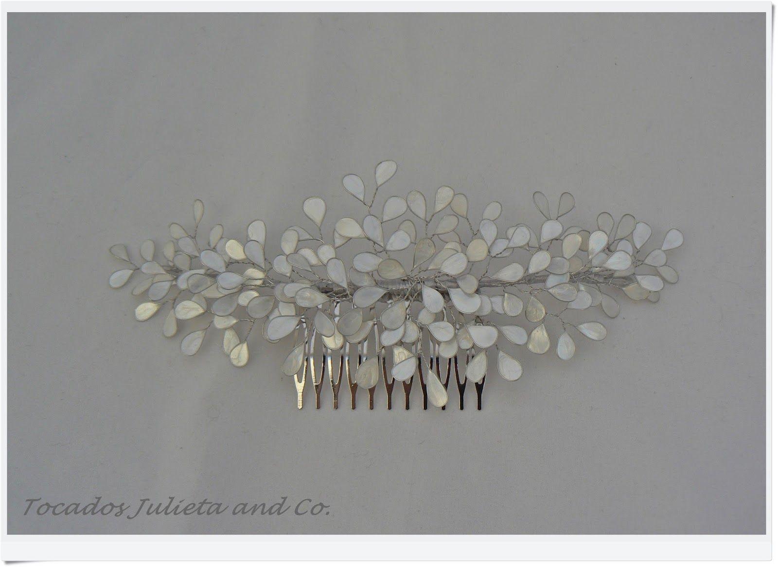 5bf950a7563b5 Pin de Irene Barba Aporta en Tocado novia
