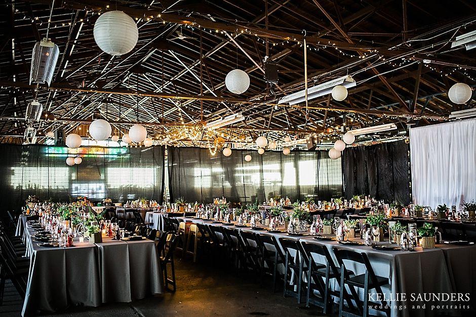 Blumz Royal Oak Farmers Market Wedding Setup