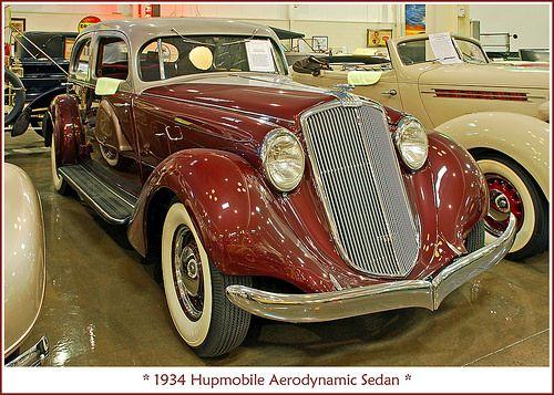 1934 Hupmobile Aerodynamic | Flickr - Photo Sharing!