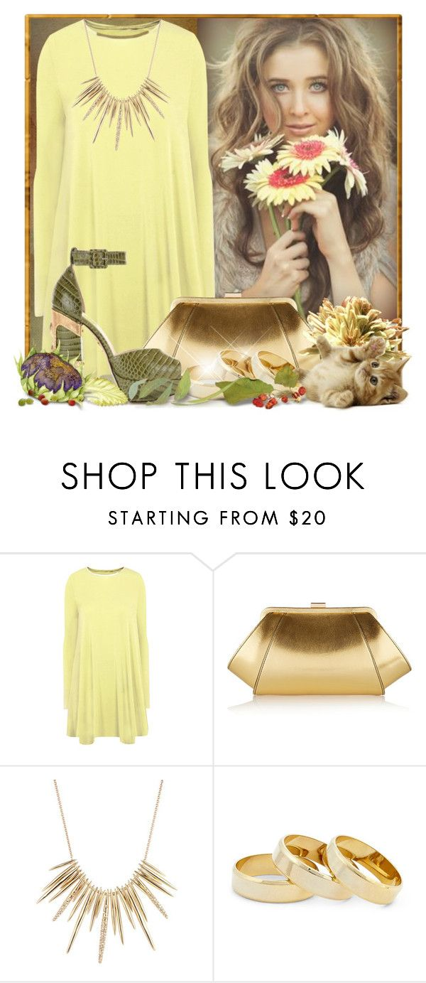 """""""Happy Birthday Kim Sweetie"""" by doozer ❤ liked on Polyvore featuring Glamorous, ZAC Zac Posen, Alexis Bittar, Sole Society and Charlotte Olympia"""