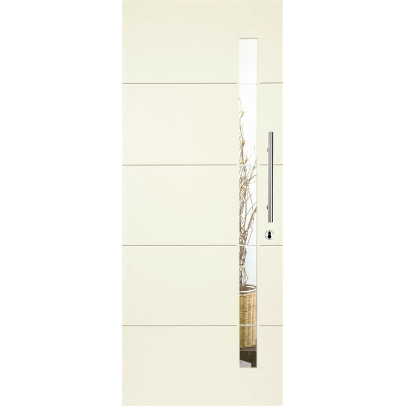 $290 Hume 2040 x 820 x 40 Linear Entrance Door With Frosted Glass XLR120 - Bunnings  sc 1 st  Pinterest & $290 Hume 2040 x 820 x 40 Linear Entrance Door With Frosted Glass ...