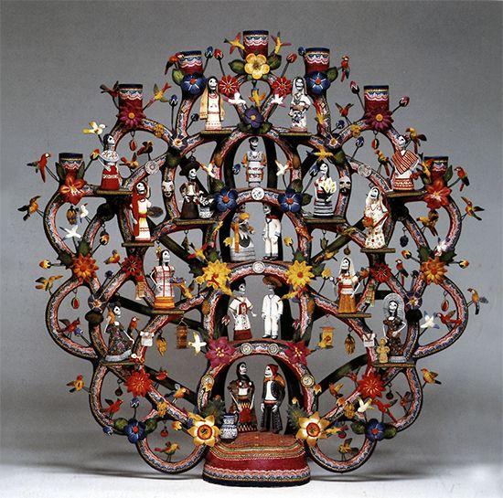 Mexican Folk Art Arbol De La Vida They Come In A Variation Of