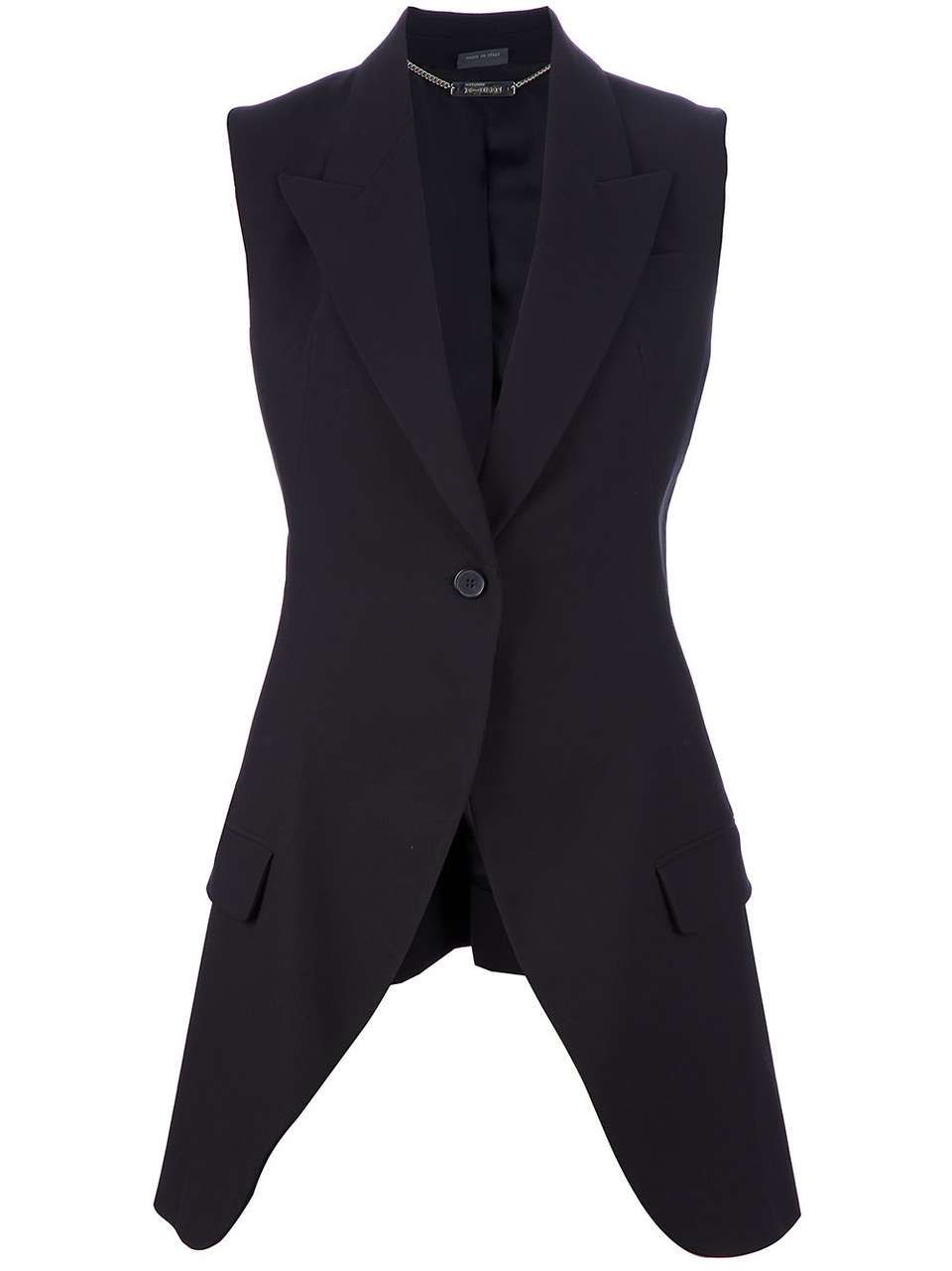 a8e063f588c Love the Alexander Mcqueen Vintage long waistcoat on Wantering