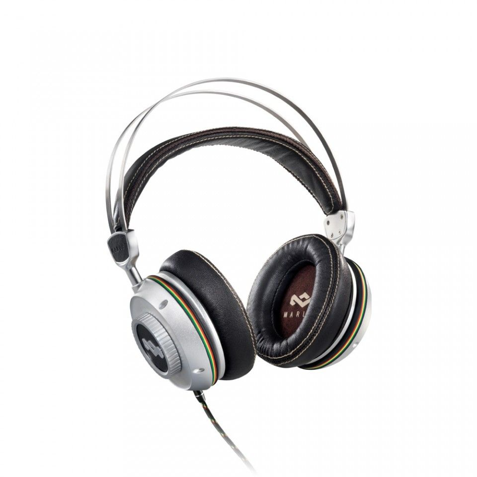 House of Marley - trench town rock headphones.  It takes passion to create things like this.