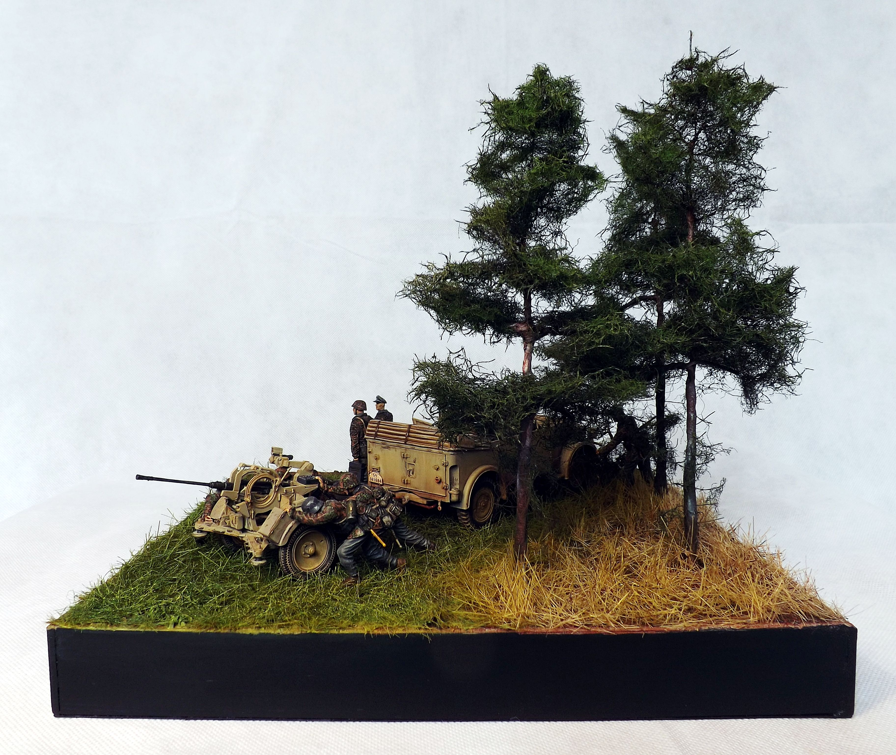 Somewhere In Russia 1943 1 35 Scale Diorama By Terence Young Military Diorama Diorama Scenery