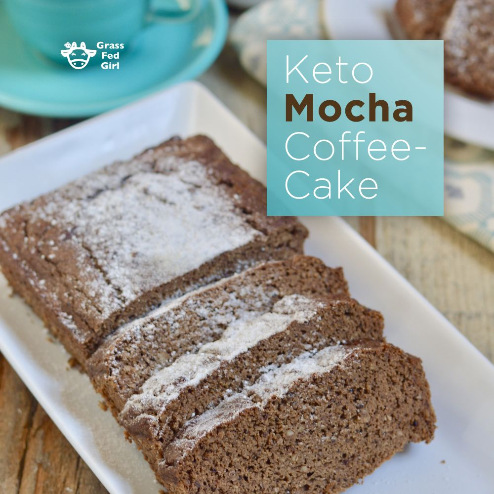 Best Keto Mocha Coffee Cake