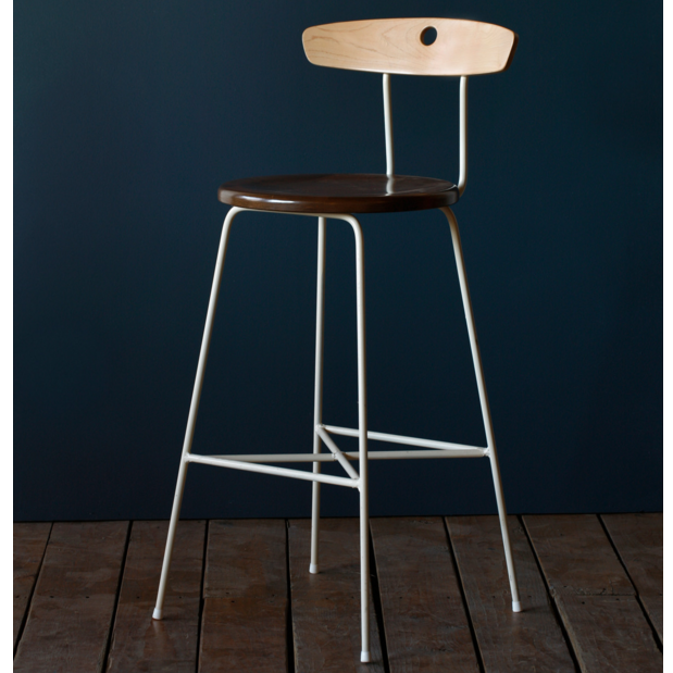Two Tone Wood Counter Stool In 2019